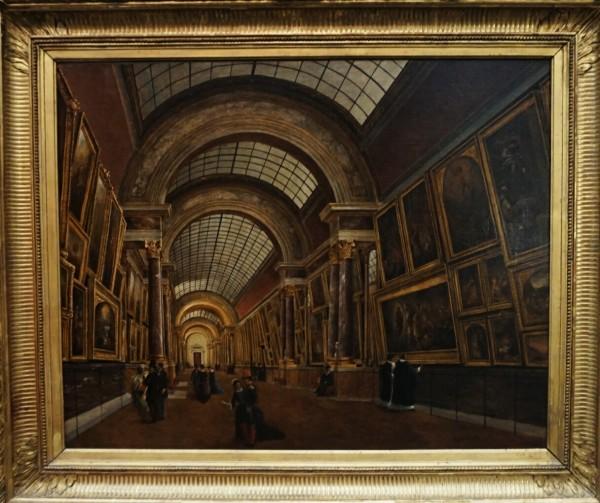 Vue de la Grande Galerie, Victor Duval, 1880