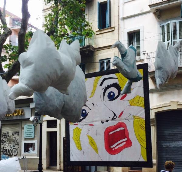 Litchenstein in Paper Clouds